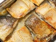Рецепта Печено филе от шаран на фурна за Никулден (без плънка)